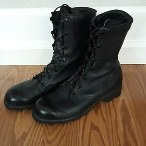 Ro Search Leather Combat Boots